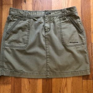 Like-New Donna Karen midi cotton skirt